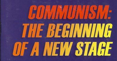 کمونیسم: آغاز یک مرحله جدید