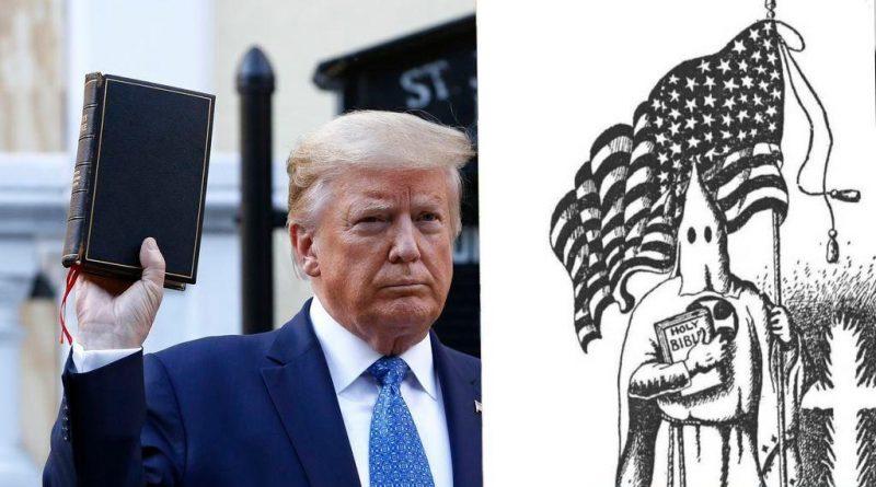 نمایش انجیلی ترامپ